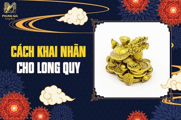 Cách Khai Nhãn Cho Long Quy