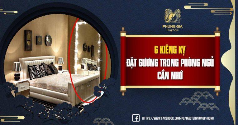6 Kiêng Kỵ Đặt Gương Trong Phòng Ngủ Cần Nhớ
