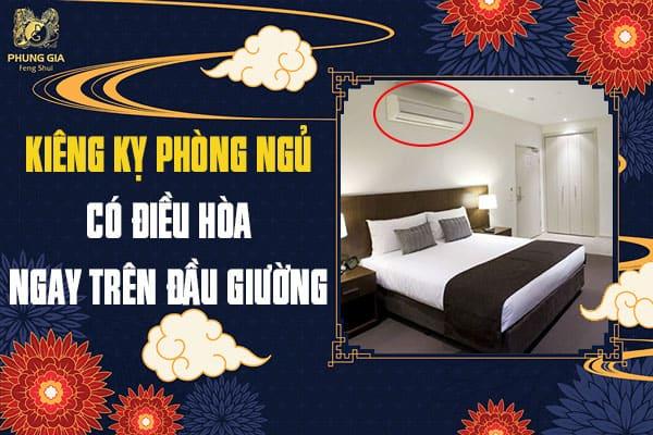 Kiêng Kỵ Phòng Ngủ Có Điều Hòa Ngay Trên Đầu Giường