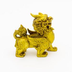 Tỳ Hưu Đồng Mạ Vàng 24K - Linh Vật Chiêu Tài Hóa Sát 6