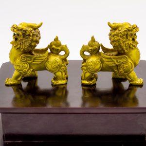 Tỳ Hưu Đồng Mạ Vàng 24K - Linh Vật Chiêu Tài Hóa Sát 4