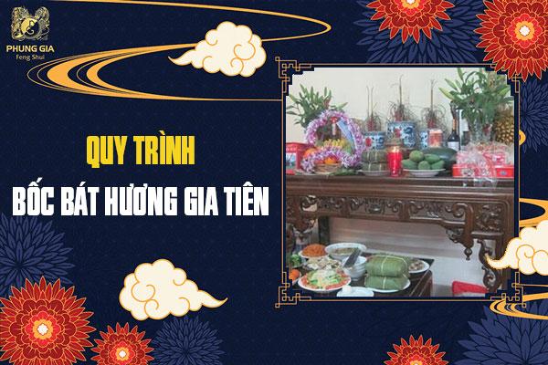 Quy Trình Bốc Bát Hương Gia Tiên
