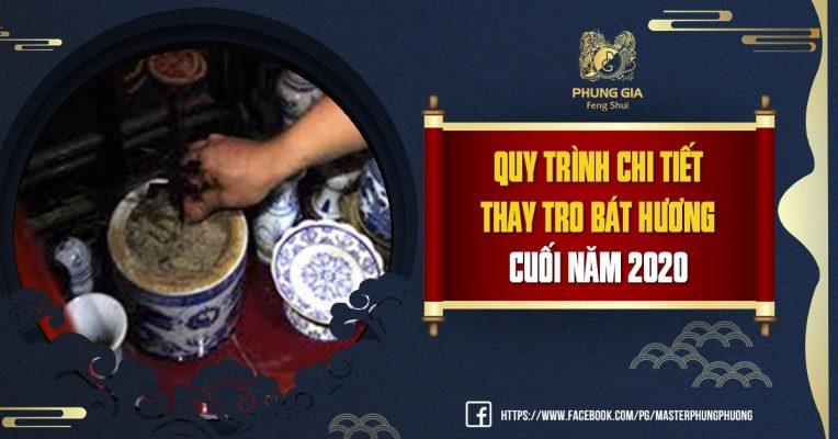 Quy Trình Chi Tiết Thay Tro Bát Hương Cuối Năm 2021