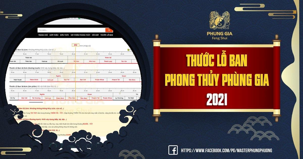 Thước Lỗ Ban Xây Dựng Chuẩn Theo Phong Thủy Online Update 2021