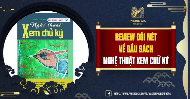 Review Đôi Nét Về Đầu Sách Nghệ Thuật Xem Chữ Ký