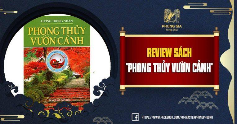 Review Sách Phong Thủy Vườn Cảnh