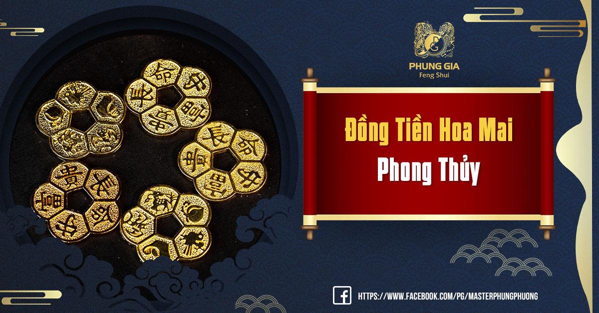 Đồng Tiền Hoa Mai Phong Thủy: