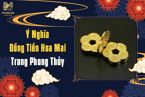 Đồng Tiền Hoa Mai Phong Thủy
