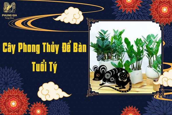 Cây Để Bàn Phong Thủy Tuổi Tý