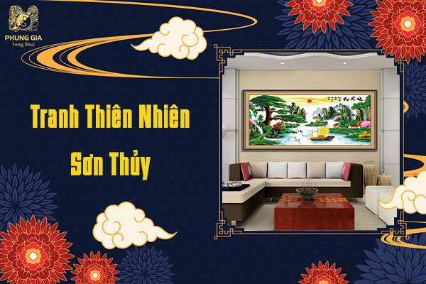 Tranh Thiên Nhiên Sơn Thủy