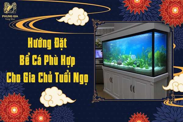 Hướng Đặt Bể Cá Hợp Phong Thủy