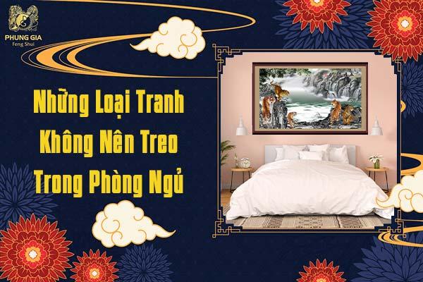 Những Loại Tranh Không Nên Treo Trong Phòng Ngủ