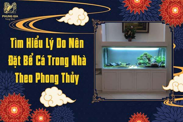 Tìm Hiểu Lý Do Nên Đặt Bể Cá Trong Nhà Theo Phong Thủy