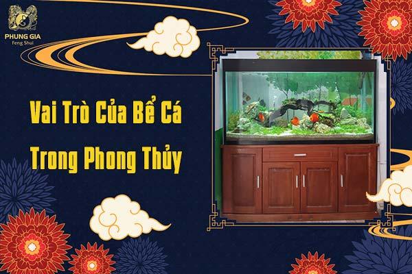 Vai Trò Của Bể Cá Trong Phong Thủy