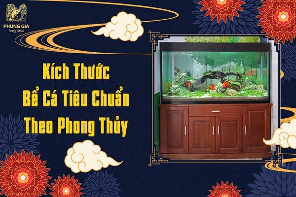 Kích Thước Bể Cá Tiêu Chuẩn Theo Phong Thủy