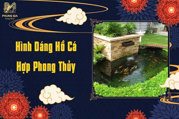 Hình Dáng Hồ Cá Hợp Phong Thủy