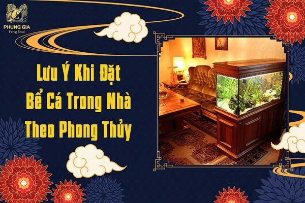 Lưu Ý Khi Đặt Bể Cá Trong Nhà Theo Phong Thủy