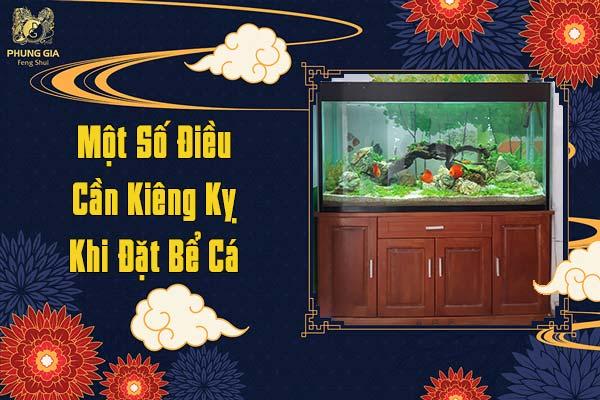 Một Số Điều Cần Kiêng Kỵ Khi Đặt Bể Cá